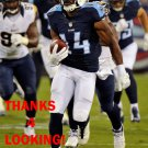 HAKEEM NICKS 2015 TENNESSEE TITANS FOOTBALL CARD