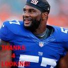 VICTOR BUTLER 2015 NEW YORK GIANTS FOOTBALL CARD