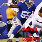 J.T. THOMAS 2015 NEW YORK GIANTS FOOTBALL CARD