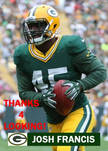 JOSH FRANCIS 2015 GREEN BAY PACKERS FOOTBALL CARD