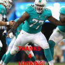 BILLY TURNER 2015 MIAMI DOLPHINS FOOTBALL CARD