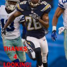 PATRICK ROBINSON 2015 SAN DIEGO CHARGERS FOOTBALL CARD