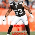 CRAIG ROBERTSON 2014 CLEVELAND BROWNS FOOTBALL CARD