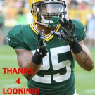 TAY GLOVER-WRIGHT 2015 GREEN BAY PACKERS FOOTBALL CARD
