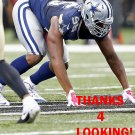 DAVID IRVING 2015 DALLAS COWBOYS FOOTBALL CARD