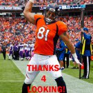 OWEN DANIELS 2015 DENVER BRONCOS FOOTBALL CARD
