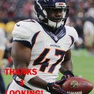 ZAIRE ANDERSON 2015 DENVER BRONCOS FOOTBALL CARD