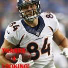 MITCHELL HENRY 2015 DENVER BRONCOS FOOTBALL CARD