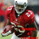 CHRIS JOHNSON 2015 ARIZONA CARDINALS FOOTBALL CARD