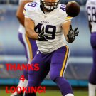 BLAKE RENAUD 2015 MINNESOTA VIKINGS FOOTBALL CARD