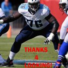 BYRON BELL 2015 TENNESSEE TITANS FOOTBALL CARD