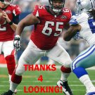 CHRIS CHESTER 2015 ATLANTA FALCONS FOOTBALL CARD