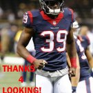 LONNIE BALLENTINE 2014 HOUSTON TEXANS FOOTBALL CARD
