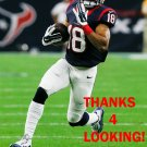 CECIL SHORTS 2015 HOUSTON TEXANS FOOTBALL CARD