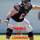 WILL MONTGOMERY 2015 CHICAGO BEARS FOOTBALL CARD
