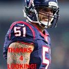 JOHN SIMON 2015 HOUSTON TEXANS FOOTBALL CARD