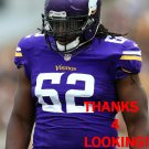 CHIGBO ANUNOBY 2015 MINNESOTA VIKINGS FOOTBALL CARD