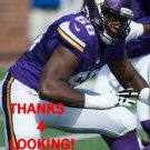 T.J. CLEMMINGS 2015 MINNESOTA VIKINGS FOOTBALL CARD