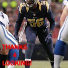 AKEEM AYERS 2015 ST. LOUIS RAMS FOOTBALL CARD