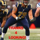 ROB HAVENSTEIN 2015 ST. LOUIS RAMS FOOTBALL CARD