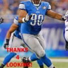 GABE WRIGHT 2015 DETROIT LIONS FOOTBALL CARD