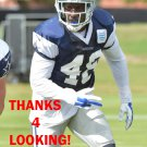 DARIUS EUBANKS 2015 DALLAS COWBOYS FOOTBALL CARD