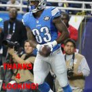 TIM WRIGHT 2015 DETROIT LIONS FOOTBALL CARD
