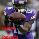 DaVARIS DANIELS 2015 MINNESOTA VIKINGS FOOTBALL CARD