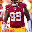 RICKY JEAN FRANCOIS 2015 WASHINGTON REDSKINS FOOTBALL CARD