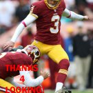 DUSTIN HOPKINS 2015 WASHINGTON REDSKINS FOOTBALL CARD