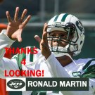 RONALD MARTIN 2015 NEW YORK JETS FOOTBALL CARD