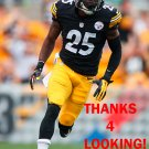 BRICE McCAIN 2014 PITTSBURGH STEELERS FOOTBALL CARD