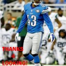 ISAIAH JOHNSON 2015 DETROIT LIONS FOOTBALL CARD