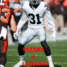 NEIKO THORPE 2015 OAKLAND RAIDERS FOOTBALL CARD