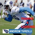 ANDREW TURZILLI 2015 TENNESSEE TITANS FOOTBALL CARD