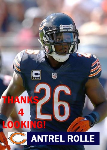 ANTREL ROLLE 2015 CHICAGO BEARS FOOTBALL CARD