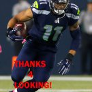 B.J. DANIELS 2015 SEATTLE SEAHAWKS FOOTBALL CARD