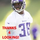 JUSTIN COLEMAN 2015 MINNESOTA VIKINGS FOOTBALL CARD