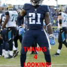 DA'NORRIS SEARCY 2015 TENNESSEE TITANS FOOTBALL CARD