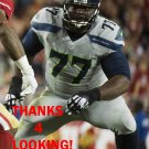 AHTYBA RUBIN 2015 SEATTLE SEAHAWKS FOOTBALL CARD