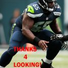 PATRICK LEWIS 2015 SEATTLE SEAHAWKS FOOTBALL CARD