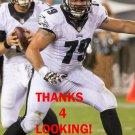JOHN MOFFITT 2015 PHILADELPHIA EAGLES FOOTBALL CARD