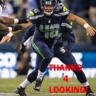 NATE BOYER 2015 SEATTLE SEAHAWKS FOOTBALL CARD