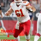 MITCH MORSE 2015 KANSAS CITY CHIEFS FOOTBALL CARD