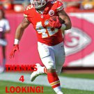 ANTHONY SHERMAN 2015 KANSAS CITY CHIEFS FOOTBALL CARD