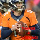 TREVOR SIEMIAN 2015 DENVER BRONCOS FOOTBALL CARD