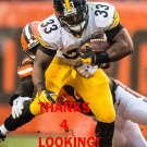 FITZGERALD TOUSSAINT 2015 PITTSBURGH STEELERS FOOTBALL CARD