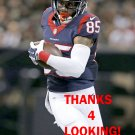 NATE WASHINGTON 2015 HOUSTON TEXANS FOOTBALL CARD
