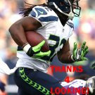DuJUAN HARRIS 2015 SEATTLE SEAHAWKS FOOTBALL CARD