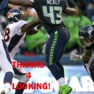 QUAYSHAWN NEALY 2015 SEATTLE SEAHAWKS FOOTBALL CARD